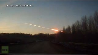 Meteorite crash in Russia