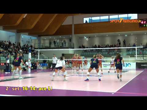 Copertina video Delta Informatica Trentino - Acqua & Sapone Roma 3-0