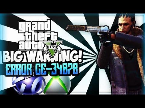 WARNING GTA V Error! (GTA 5 ONLINE)