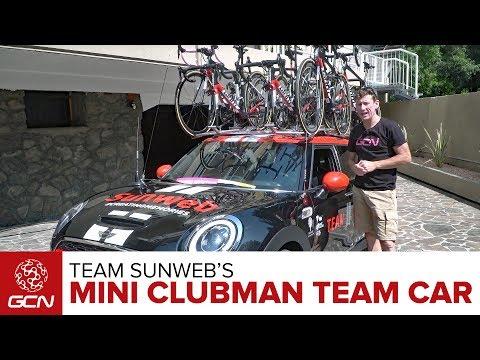 Team Sunweb Mini Clubman Cooper S Team Car Tour