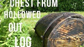 Construir un arcón con un tronco