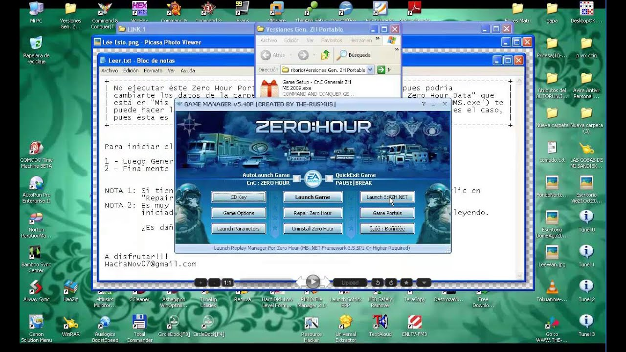 Generals zero hour reborn v505 english patch
