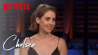 Alison Brie and Betty Gilpin Talk Female B.O. and Pubic Hair Preferences | Chelsea | Netflix