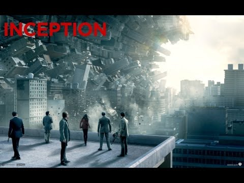 """INCEPTION"" Leonardo DiCaprio, Ellen Page 