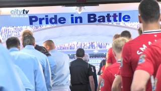 TUNNEL CAM: Man City 1-0 Man United Behind the scenes at the Etihad Stadium