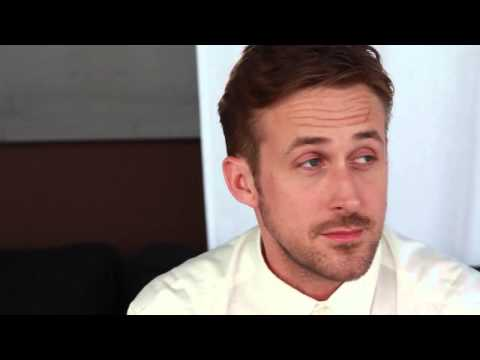 Ryan Gosling, post-it interview - CANNES 2014