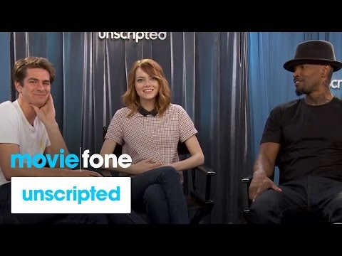 'The Amazing Spider-Man 2' Unscripted Interview | Moviefone