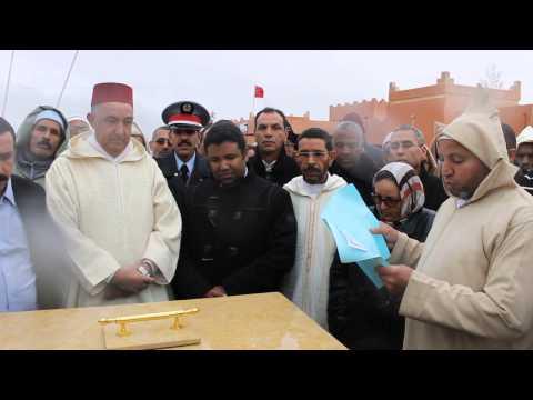 وضع حجر الأساس لمشروع إعادة تهيئة وتأهيل مستشفى بومالن دادس
