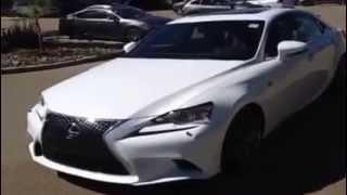 Brand New 2014 Lexus IS 250 F Sport Package