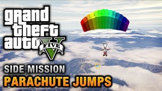 GTA 5 Parachute Jumps