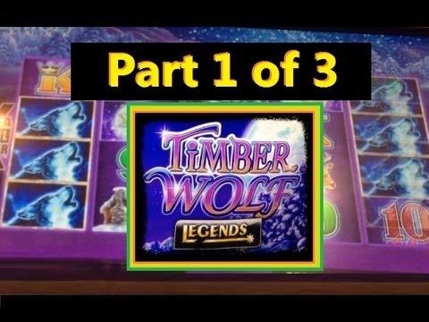 Big Win Timber Wolf Legends Slot Machine Bonus