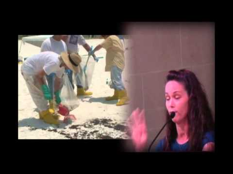 (BP Oil Spill)  Kindra Arnesen (Gulf of Mexico)