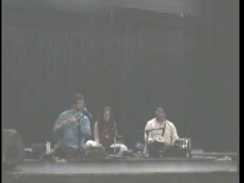 Raga Bhopali - John Wubbenhorst with Broto Roy. Live May 30 09