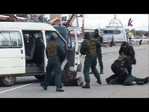 Смотреть видео День открытых дверей в пограничной охране