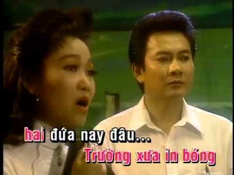 (karaoke) Minh Ky & Kim Chi - Noi buon hoa phuong. (TAN CO)