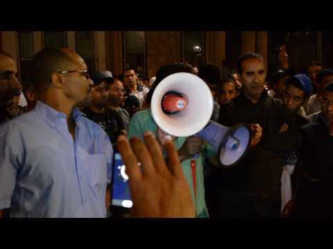 ميدلت:وقفة تضامنية مع حراك الريف وصرخة في وجه التهميش