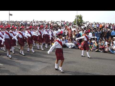 Republic day grand parade at Marine Drive, Mumbai - India - 26th Jan 2014 - Part 9