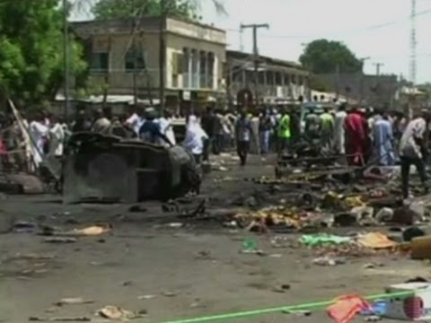 Raw: Deadly Car Bomb Hits Marketplace in Nigeria