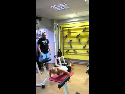 Machallekides George- Personal training- Sports Center-Komotini, Greece