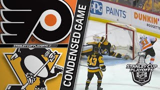 04/11/18 R1, Gm1: Flyers @ Penguins