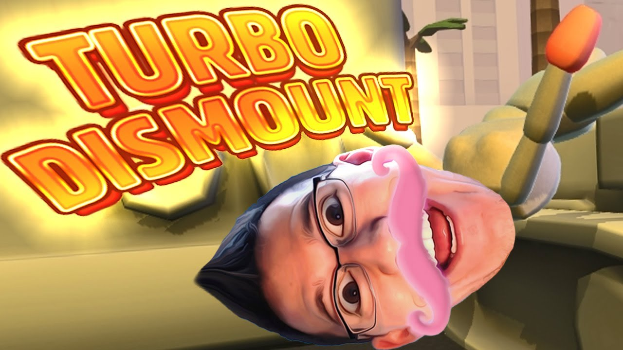 Turbo Dismount #1 | TOO MUCH FUN!! - YouTube