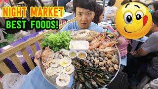 BEST Thai NIGHT MARKET Street Foods! - Rod Fai Train Market Tour