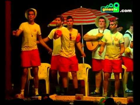 Los chicos del cloro. Carnaval de Gines 2013 (fase previa)