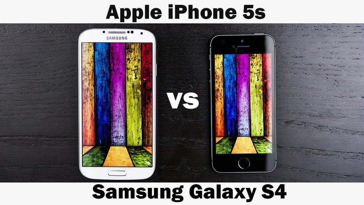 iPhone 5S vs Samsung Galaxy S4 Full In-Depth Comparison
