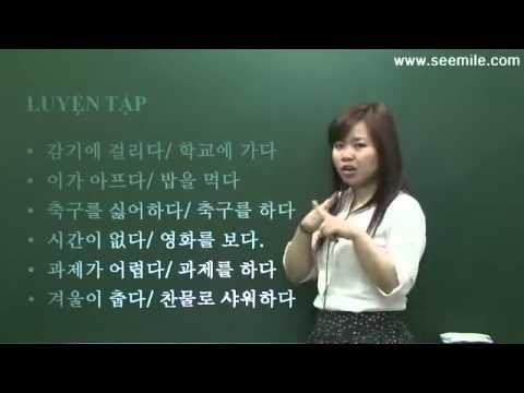 Học Tiếng Hàn Quốc Sơ Cấp - Bài 3 - Tặng quà cho Cô giáo, Thầy giáo