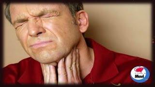Garganta inflamada e irritada
