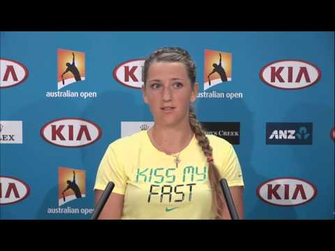 Victoria Azarenka Press Conference - Australian Open 2013