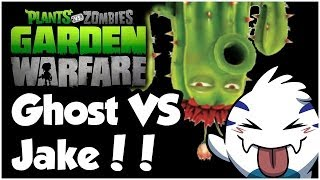 Plants vs. Zombies Garden Warfare Walkthrough - GHOST VS JAKE!! (1080p HD)