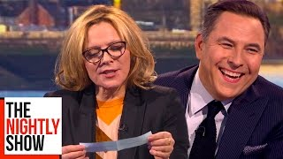Kim Cattrall Answers Questions She's Never Been Asked Before | The Nightly Show