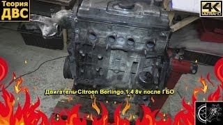 Теория ДВС: Двигатель Citroen Berlingo 1.4 8v после ГБО. Евгений Травников.