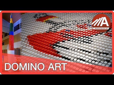 100,000 Dominoes (Guinness World Record - Tallest Domino Structure)