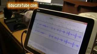 How To Hook Up Yeti Mic To Windows 8 Tablet- Portable