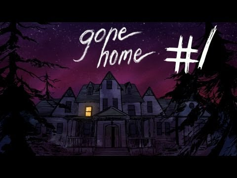 Gone Home - Part 1 | ANYBODY HOME? | Interactive Story Exploration Game | Gameplay/Commentary