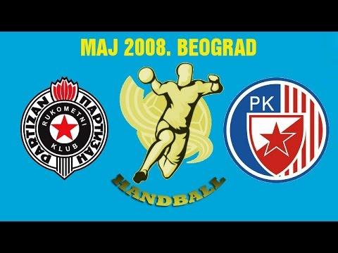 RK Partizan – RK Crvena Zvezda (maj 2008.)