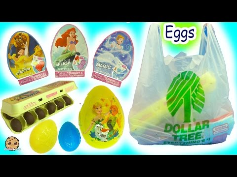 Dollar Tree Candy Haul - Disney Beauty and the Beast Gummies, Chocolate Egg, Surprise Frozen Eggs