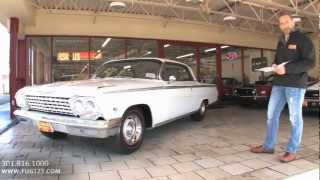409hp 1962 Chevrolet Impala SS 409 FOR SALE TEST DRIVE