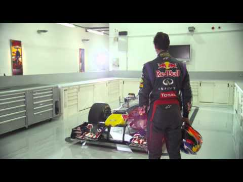 Daniel Ricciardo : the new Infiniti Red Bull Racing driver for 2014 !