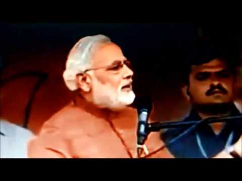 Narendra Modi's speech in 2013 on Salman Khurshid's Pak Biryani Protocol in Jaipur