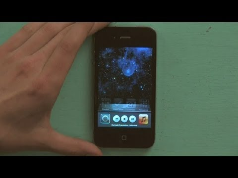 how to turn on screen rotation on iphone