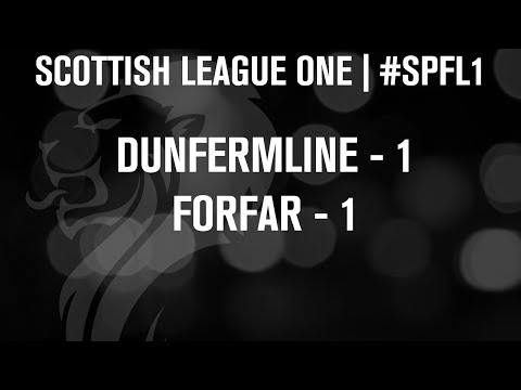 #SPFL League One | Dunfermline 1-1 Forfar | 07/12/13
