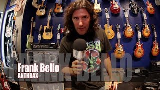 ANTHRAX's Frank Bello: Teaching kids music, 'Anthems', NEW lineup, Bass Rig & More!