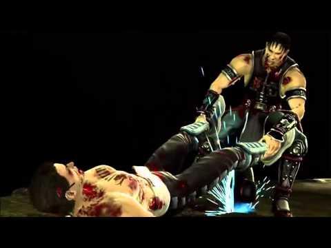 Бесплатные игры онлайн  Mortal Kombat 9   Kung Lao's Buzzsaw Fatality