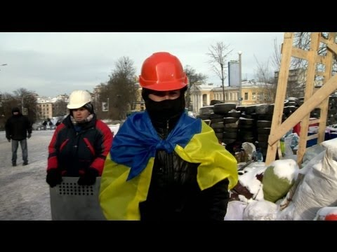 Inside Ukraine's 'Protest Town' - BBC News