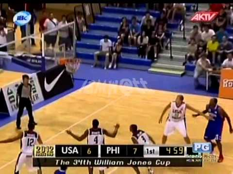 2012 JONES CUP Gold Medal Match | Pilipinas Vs USA part 2
