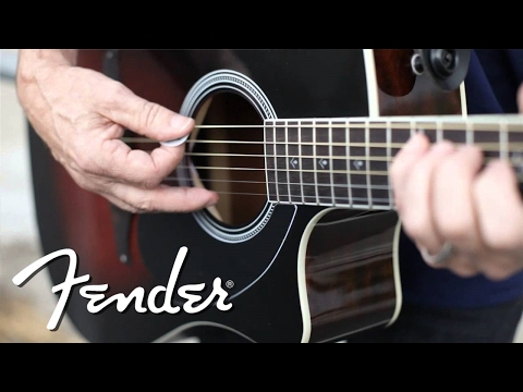 "Fender Wayne Kramer ""Royal Tone"" Dreadnought CE"