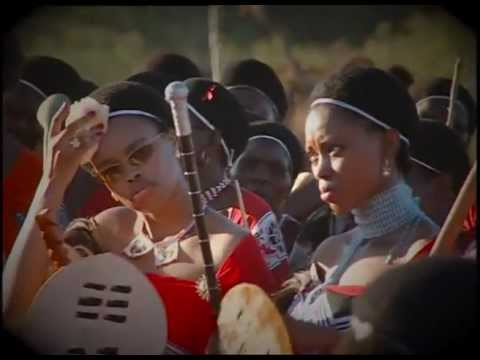 Swaziland - Reed dance for King Mswati III